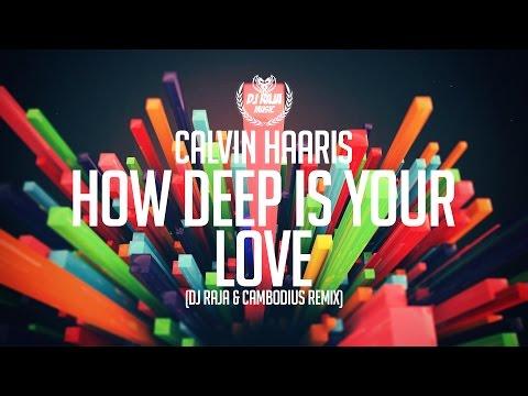 Calvin Harris  How Deep Is Your Love DJ Raja & Cambodius Remix