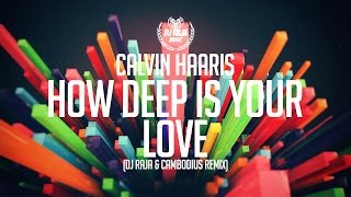 Calvin Haaris - How Deep Is Your Love (DJ Raja & Cambodius Remix)