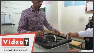 بالفيديو.. غلق اللجان الانتخابية بالوراق والصف بعد انتهاء التصويت