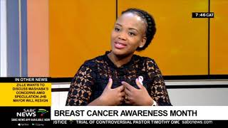 Cancer Awareness Month I Breast cancer survivor Rahab Zulu tells her experience