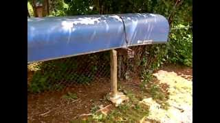 Canoe Storage Rack- Cheap And Easy To Build...