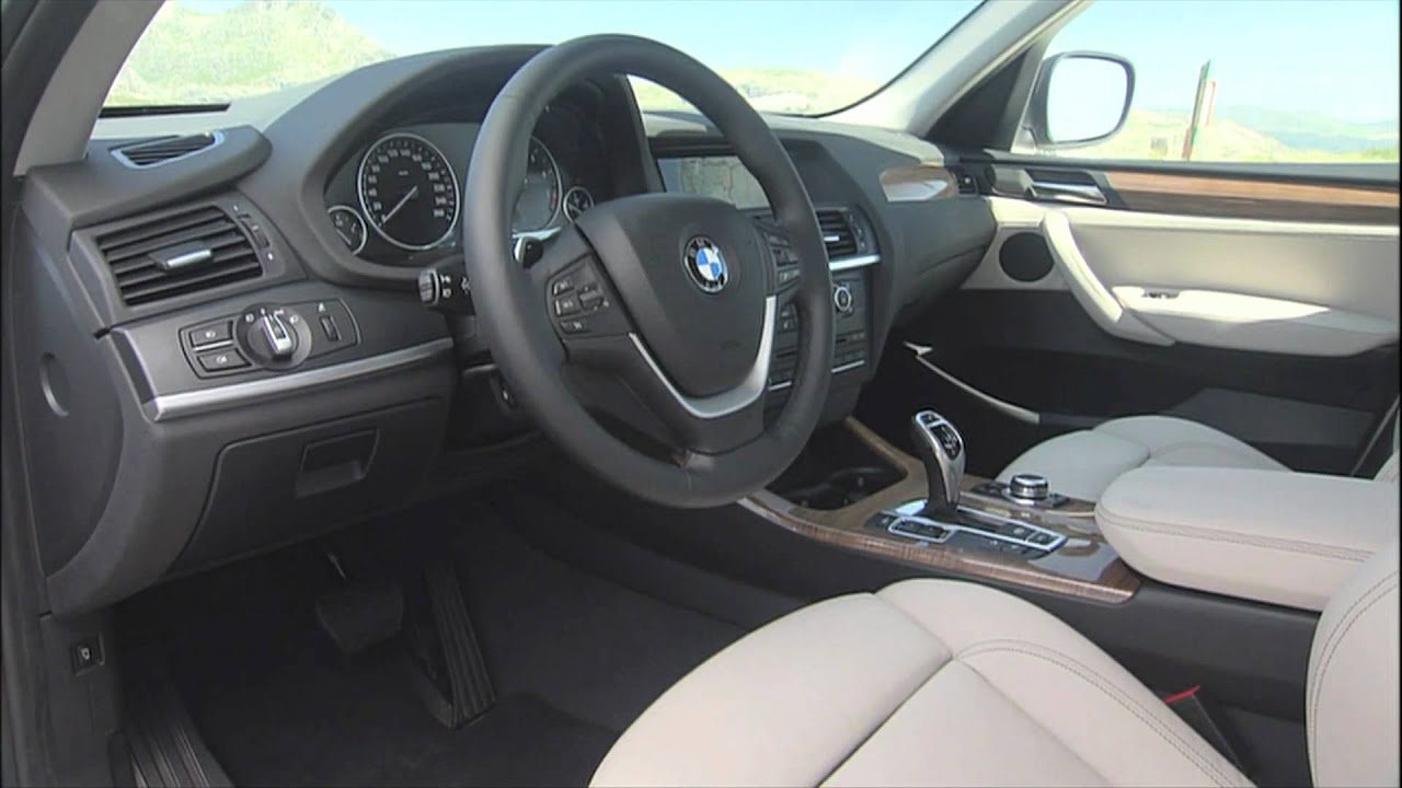 Bmw X5 Interior >> BMW X3 (F25) Interior - YouTube