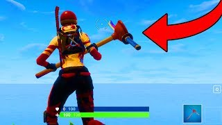 The STUPIDEST Axe In Fortnite History. (Fortnite Battle Royale)
