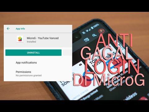 Cara Instal MicroG di Youtube Premium Kalian