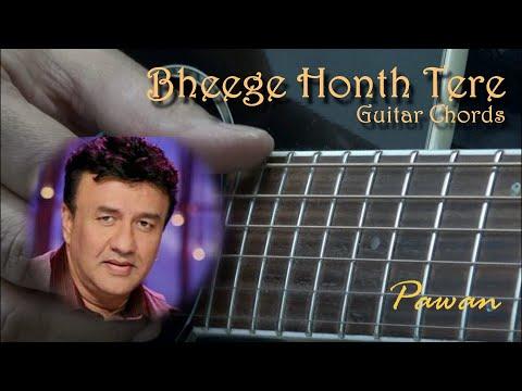 Bheege Honth Tere - Murder - Guitar Chords Lesson by Pawan