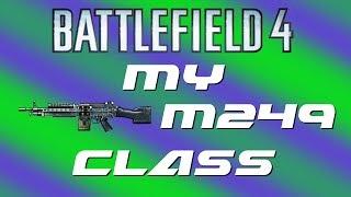 My Best Gun So Far in Battlefield 4: M249 Machine Gun (BF4 PS4 Gameplay)