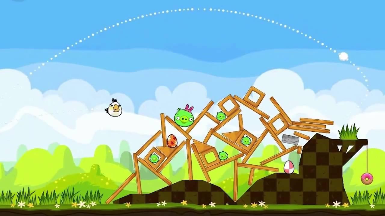 Angry Birds Seasons - Easter Eggs Gameplay Trailer - YouTube
