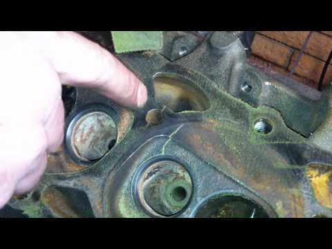 How to Magnaflux a cast Iron cylinder head or block - YouTube
