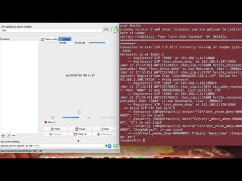 VoIP Phone Call Recording using Asterisk  Server