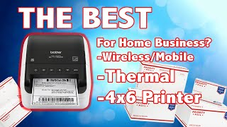 The Best Wireless Thermal Label Printer for at Home Businesses? Brother QL-1110NWB Review