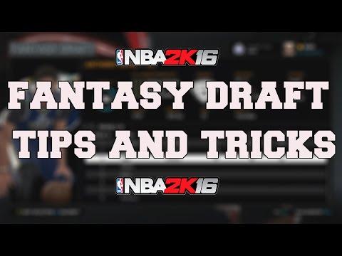 NBA 2K16 MyLeague/MyGM FANTASY DRAFT - HOW TO DRAFT AN AMAZING TEAM!!!