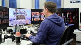 Minecraft auf der Höllenmaschine 6 mit Lesertester Mario | deutsch / german
