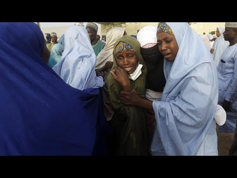 Kidnapped women and children escape their captors in Nigeria