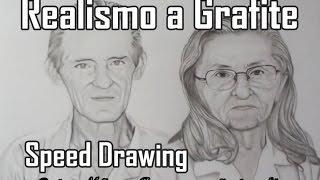 Desenhando Retrato Realista a Grafite J. M. - Speed Drawing