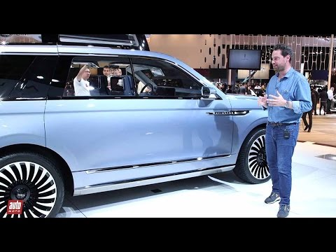 Lincoln Navigator Concept [PRESENTATION] : L'empire contre-attaque [SALON DE SHANGHAI]
