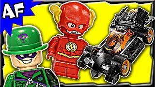 Batman The RIDDLER CHASE 76012 Lego DC Comics Super Heroes Stop Motion Build Review