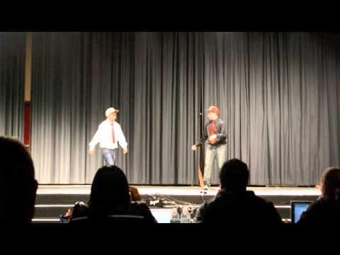 Highschool Talent Show Dubstep Dance