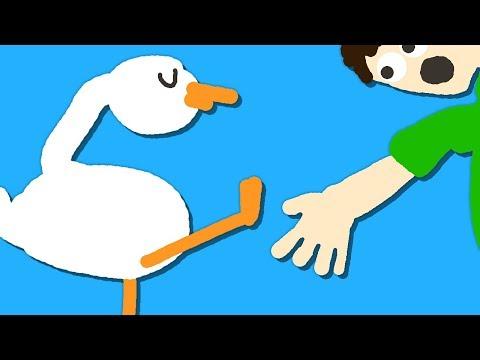 Zombey Führt Kunststückchen Vor. (Goose Game #4)
