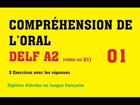 DELF A2 - Compréhension De L'oral (no 1)