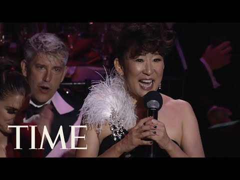 Sandra Oh Praises Beyoncé's 'Homecoming', Talks Relevance Of Art & More In Toast | TIME 100 | TIME