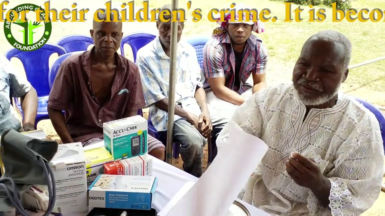 Eastern #Nigerian# Government why are you punishing the elders of the Land for son's crime?