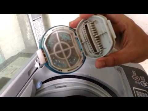 how to clean lg washing machine