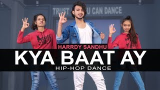 Harrdy Sandhu - Kya Baat Ay Dance Video | Vicky Patel Choreography | Easy Hip Hop For Beginners