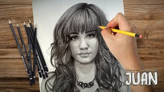 Drawing Demi Lovato By juan Andres