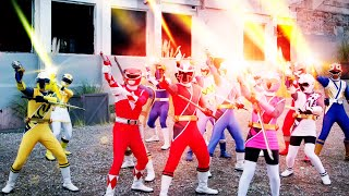 Dimensions in Danger!!! | Super Ninja Steel | Power Rangers Official