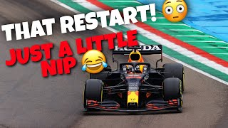 MAX VERSTAPPEN JOKING ON THE TEAM RADIO AFTER WINNING THE 2021 IMOLA GP!