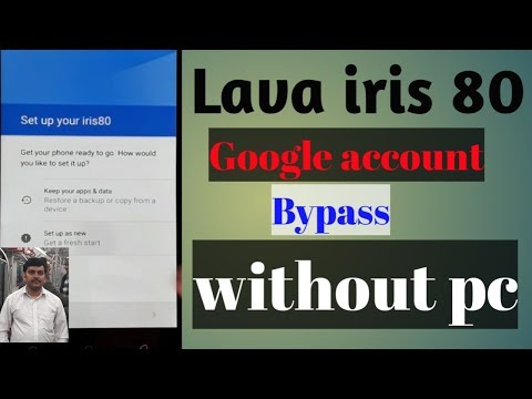 Unlock Lava iris 80 An7 0 Frp Gmail Google Account | FunnyCat TV