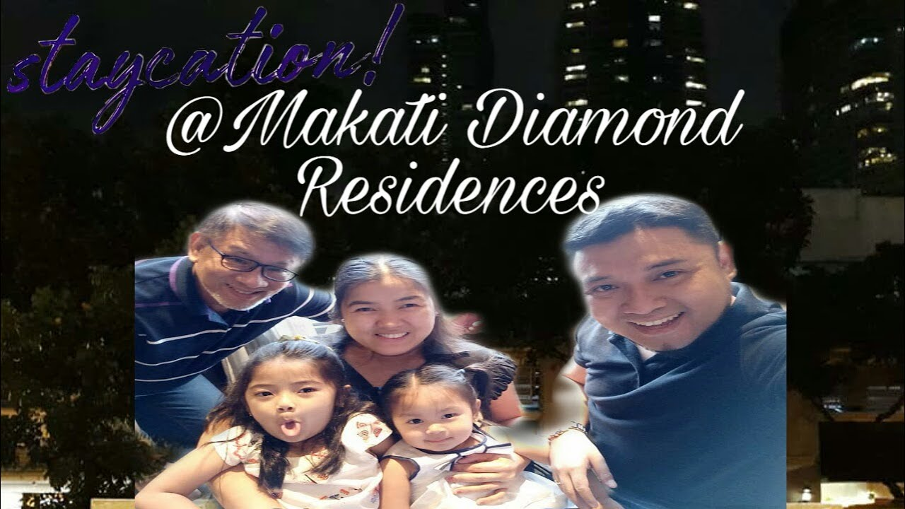 Staycation at Makati Diamond Residences