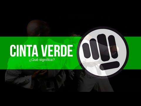 Que Significa La Cinta Verde En Karate Do Youtube