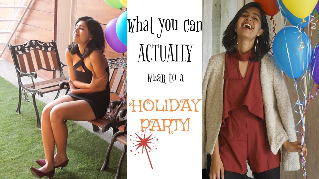 What You Can Actually Wear to a Holiday Party!| Sejal Kumar