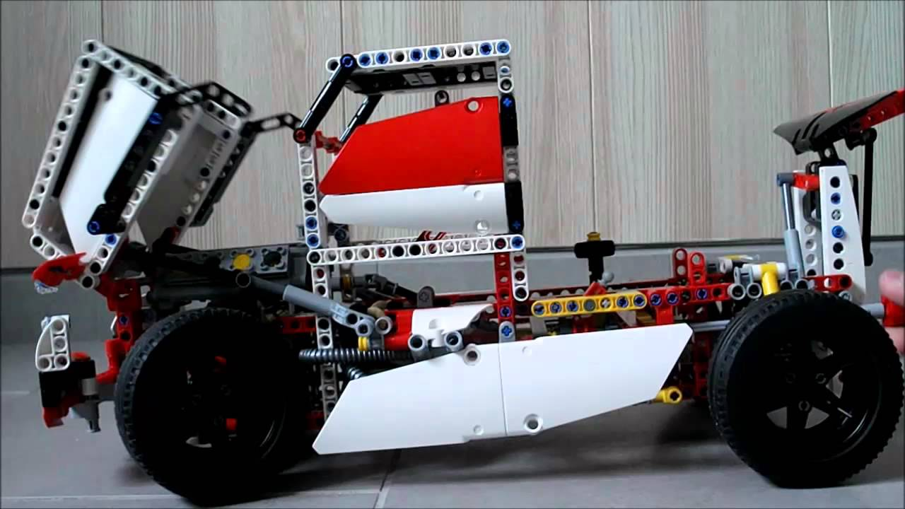 lego technic race truck 42000b youtube. Black Bedroom Furniture Sets. Home Design Ideas