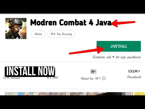 Modren Combat 4 Android Java Game || Java Version || Easily Download For Android