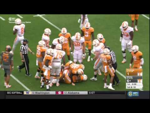 2017 Tennessee Orange and White Game (Full Video)