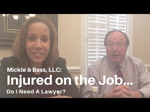 Injured on the job -  Do I need a lawyer?