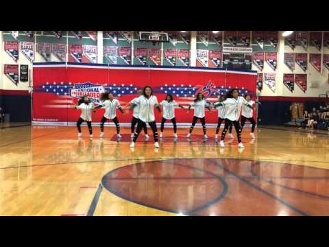 Rancho High School Dance Team Performance