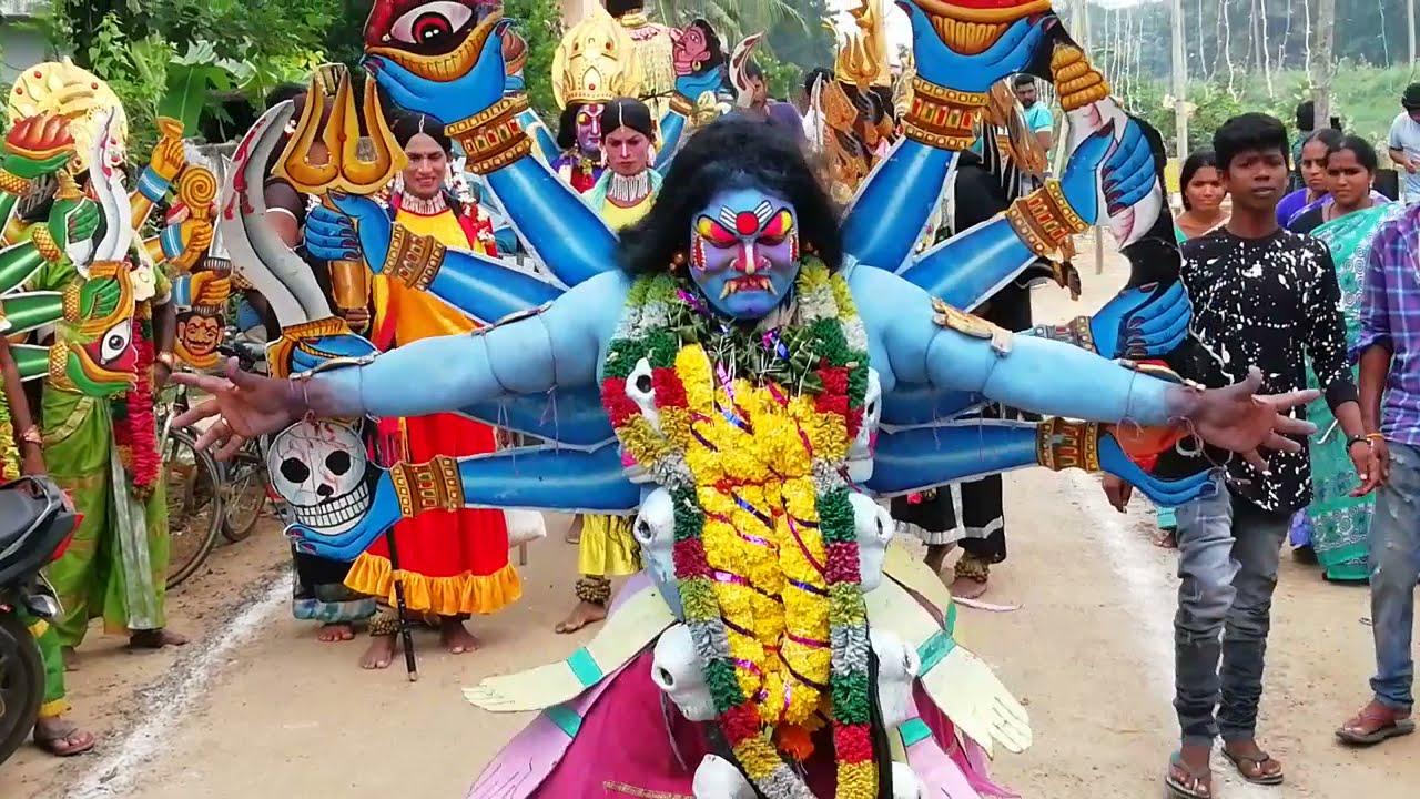 Download Akividu vinayaka chaviti Kalika dance 2018