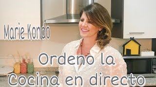 Como ORGANIZAR LA COCINA / Ordenar con el método Konmari o Marie Kondo. Kitchen order