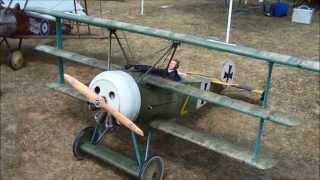 GTM Fokker Dr1 Long Island WWI Dawn Patrol 2014