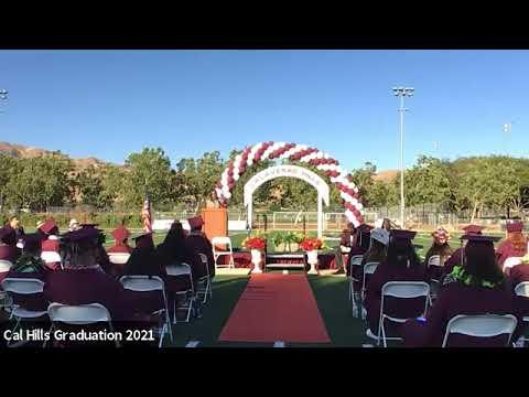 Calaveras Hills High School Class of 2021 Graduation Ceremony