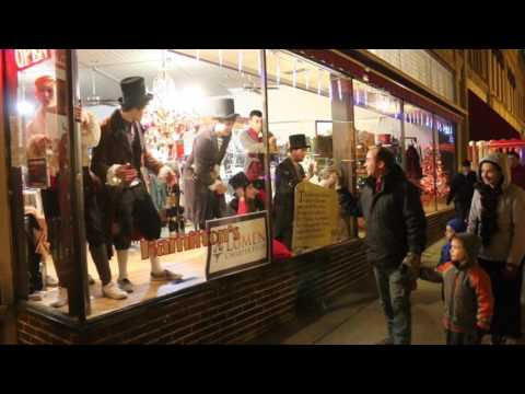 Living Windows at Dickens of a Christmas 2016