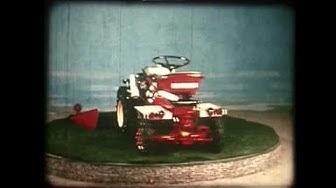 Landwirtschaft gestern (1970): Das Bucher Tractomobil M 700 S