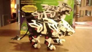 Hasbro ZOIDS Liger Zero Review