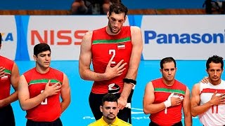 Morteza Mehrzad | 2 m 46 cm The tallest volleyball player in the world |  Paralympic Games Rio 2016