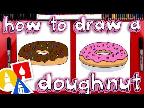 How To Draw A Doughnut