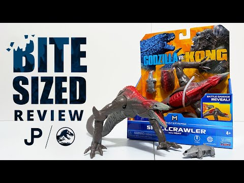 NEW Godzilla vs. Kong Toy Review - Skullcrawler with HEAV by Playmates Toys / collectjurassic.com
