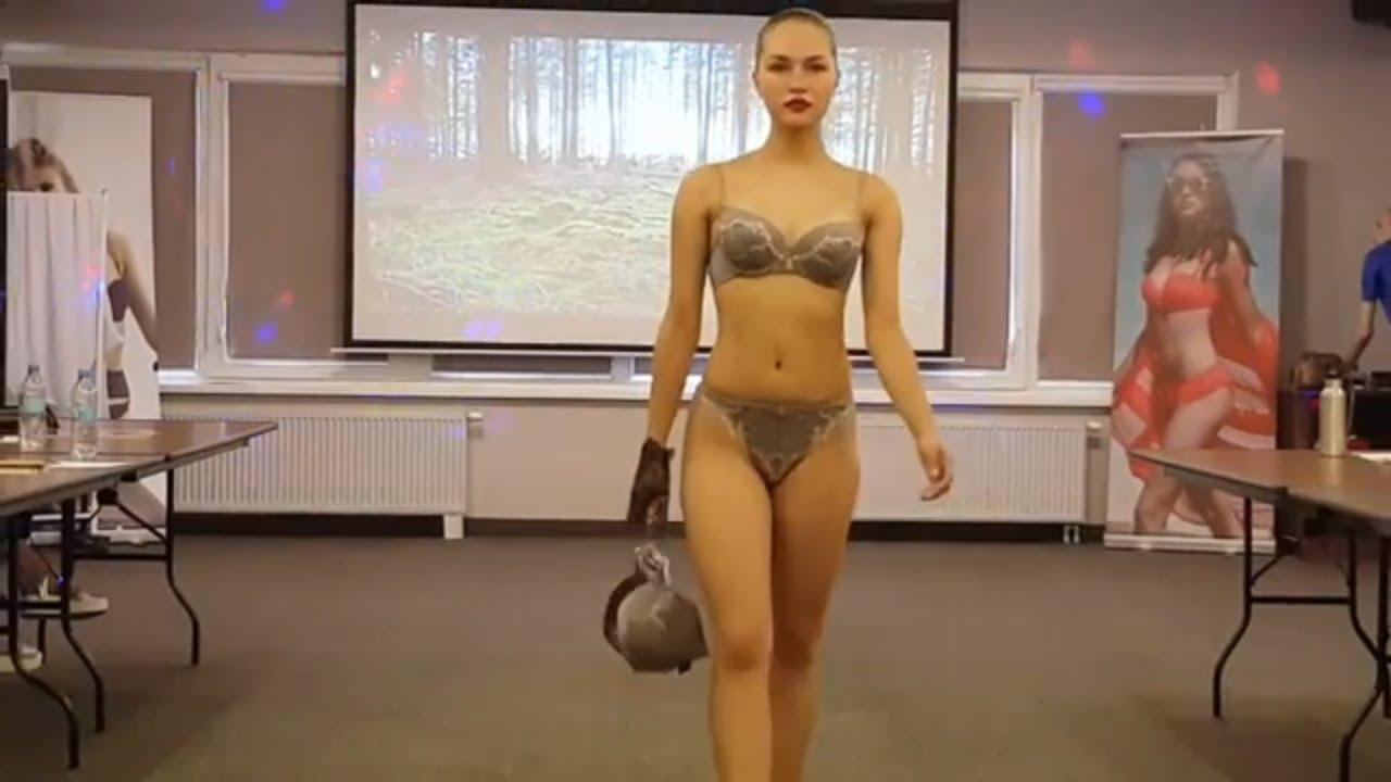 Видео показ женского нижнего белья для полных тюмень техника для дома